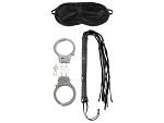 Набор для эротических игр Lover's Fantasy Kit - наручники, плетка и маска #10896