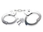 Металлические наручники Metal Handcuffs с ключиками #10962