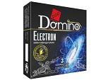 Ароматизированные презервативы Domino Electron - 3 шт. #12380