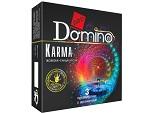 Ароматизированные презервативы Domino Karma - 3 шт. #12381