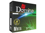 "Ароматизированные презервативы Domino ""Мята"" - 3 шт. #12390"