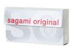Ультратонкие презервативы Sagami Original - 6 шт. #12392