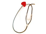 Стетоскоп с сердечком #12847