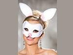 Карнавальная маска зайки и ободок с ушками #13334