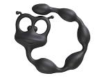 Черный анальный стимулятор Flexy Felix #13363