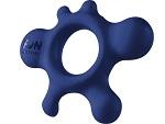 Синее эрекционное кольцо Rain #13505