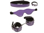 БДСМ-набор X-Play Purple Pleasure из 4 предметов #14263