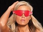 Красная маска на глаза X-Play Bandeau #14268