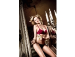 Бюстгальтер Have Fun Princess красно-бордовый с мягкими чашечками, косточками и съемными бретельками #14966