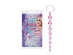 Розовая анальная цепочка First Time Love Beads #15614