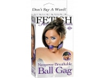 Сиреневый кляп BREATHABLE BALL GAG #16090