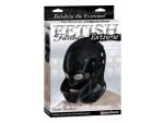 Латексная черная маска на голову um Bucket #16104