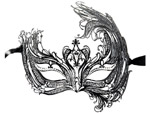 Венецианская маска Catia #19029