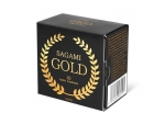 Золотистые презервативы Sagami Gold - 10 шт. #104337