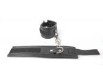Черные наручники на липучке #108476