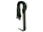 Черная плетка Notabu из искусственной кожи - 50 см. #108678
