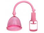 Розовая помпа для груди с одной чашечкой