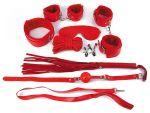 Пикантный красный набор БДСМ #119033
