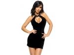 Роскошное велюровое платье Solange #149554