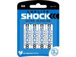 Батарейки Luxlite Shock (BLUE) типа АА - 4 шт. #179025