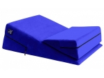 Синяя подушка для секса из двух частей Liberator Wedge/Ramp Combo #185468