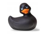 Черный вибратор-уточка I Rub My Duckie 2.0 #198428