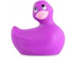 Фиолетовый вибратор-уточка I Rub My Duckie 2.0 #198429