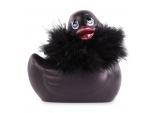 Черный вибратор-уточка I Rub My Duckie 2.0 Paris #198430