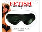 Кожаная маска на глаза Leather Love Mask #21290