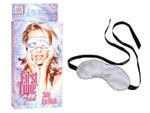 Сатиновая серебристая маска FIRST TIME FETISH SATIN #21373