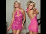 Сверкающее платье с пайетками #30177