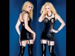 Короткое платье с серебристой отделкой #30575