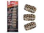 Набор лаковых полосок для ногтей Леопард Nail Foil #31684