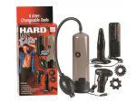 Набор для мужчин Hard Mans Tool Kit: вакуумная помпа, анальная пробка, эрекционные кольца и виброяичко #31903