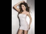 Миниатюрное платье с кружевной вставкой Vena #33522