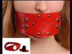 Красный разборный кляп #34116