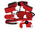 Ярко-красный набор для страстных игр #37352