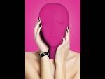 Закрытая розовая маска на лицо Subjugation #41030