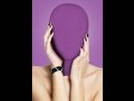 Закрытая фиолетовая маска на лицо Subjugation #41031