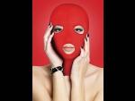 Красная маска на лицо с вырезами Subversion #41034