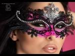 Очаровательная маска с камнями #46146