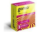 Презервативы с анестетиком для продления удовольствия Ganzo Long Love - 3 шт. #46337