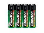 Комплект из 4 батареек типа АА CAMELION R6 #49142