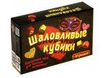 """Настольная игра """"Шаловливые кубики"""" #51117"""
