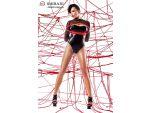 Боди Aimi с длинными рукавами и веревками для связывания #56167