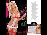 Smart Set №33: игровой костюм медсестры и белые пэстисы-звёзды