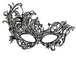 Асимметричная нитяная маска #59777