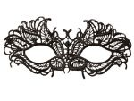Нитяная маска с листиками