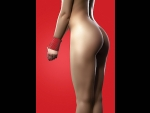Красная силиконовая лента для бандажа - 5 м.