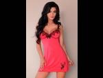 Красивая ночная сорочка Sinsita с вышивкой #74027
